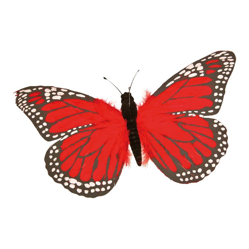 Schmetterling, Ø 55cm, Federn