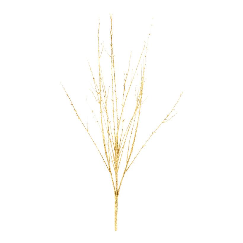 Zweig mit Glitter, 95cm, Kunststoff