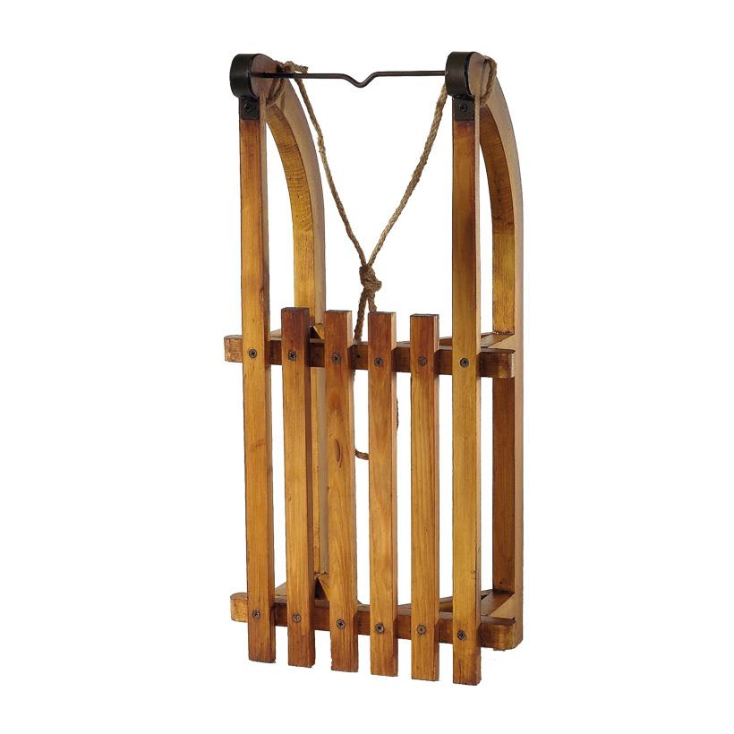 # Schlitten aus Holz, 60x30x16cm