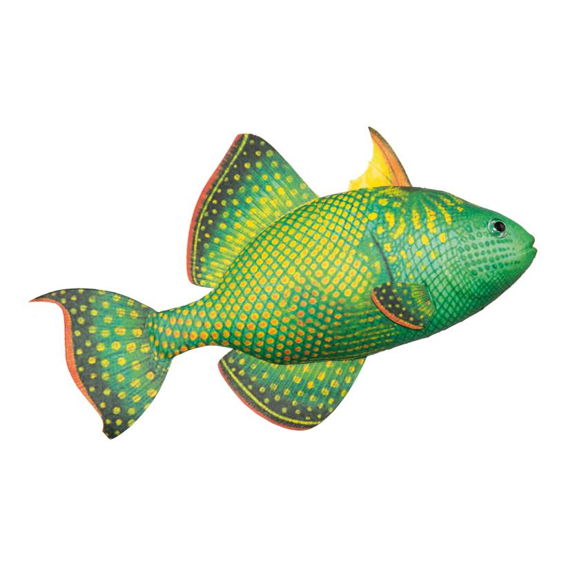 Tropenfisch, 30x16cm, Styrofoam bedruckt