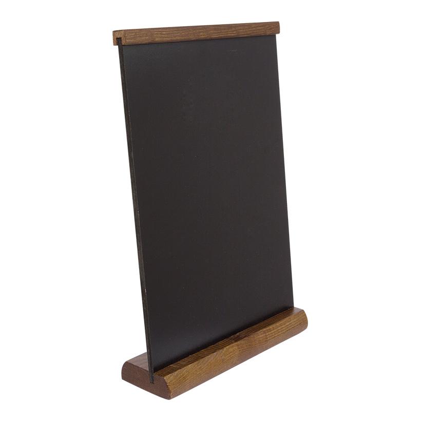 # Tischtafel aus Holz, 31x20cm, mit Kreidemarkern beschreibbar