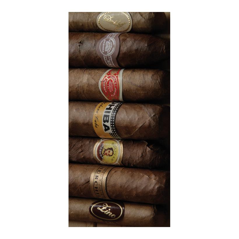 """# Motivdruck """"Zigarren"""", 180x90cm Stoff"""