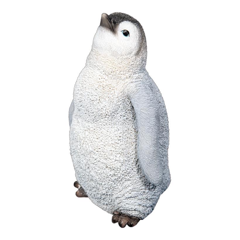 Pinguinküken, 26x16x15cm, aus Kunstharz