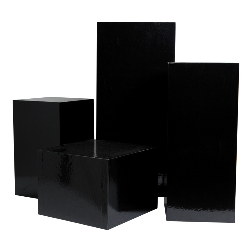 Boxen, 45x20x20cm, 35x15x15cm, 25x15x15cm, 15x20x20cm, 4 Stk./Satz, nestend, Pappe