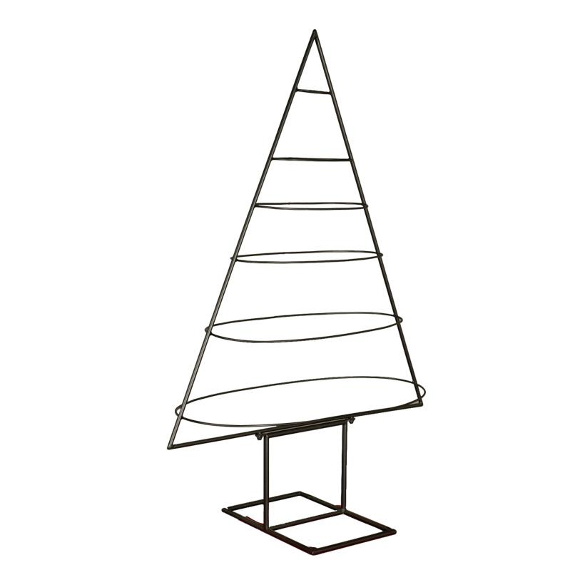 Baumkontur, 120x70x35cm abstrakt, 3-dimensional, pulverbeschichtet, aus Metall