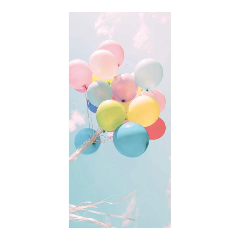 "# Motivdruck ""Luftballons"", 180x90cm Papier"
