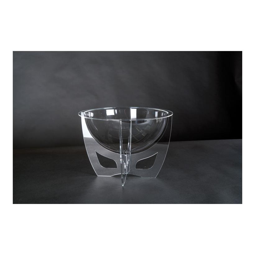 # Acryl-Display, 33x33x24cm mit Halbkugel als Warenschütte