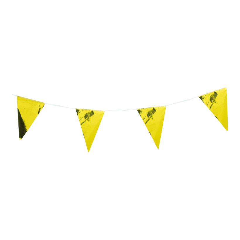 # Wimpelkette, 10m, 15-fach, Wimpel 20x30cm, PVC, wetterfest