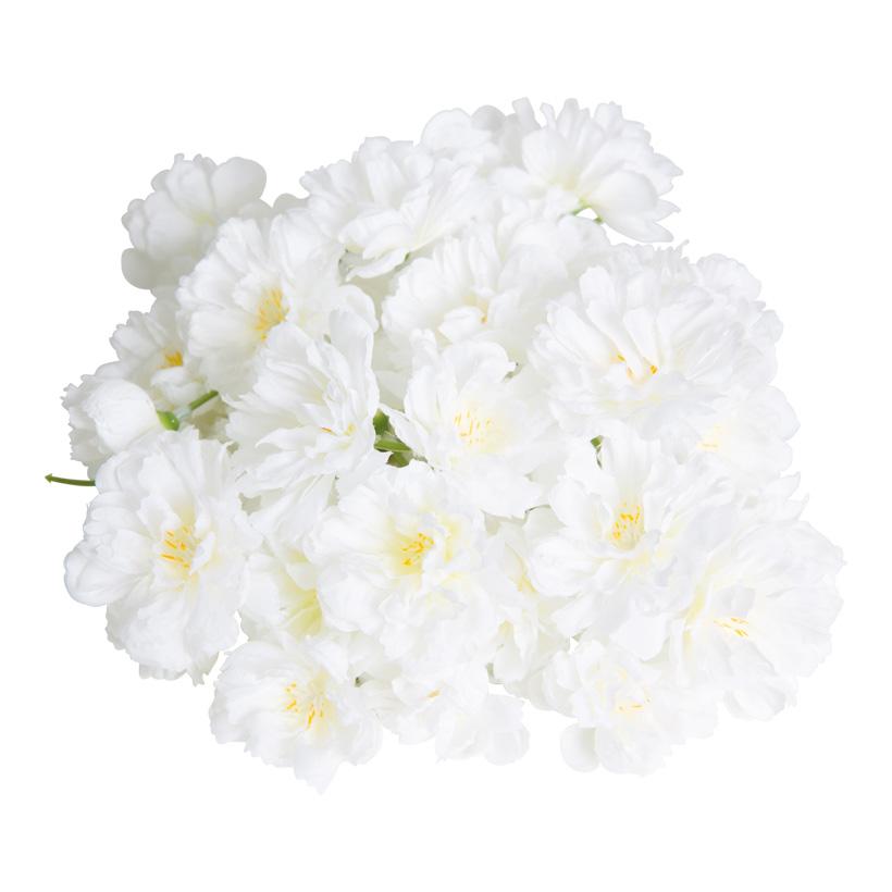 Kirschblüten, Ø 4cm, 72Stck./Btl., Kunstseide
