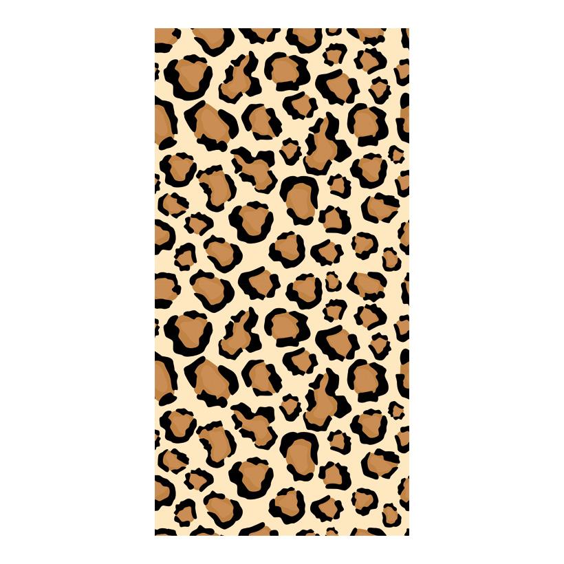 # Motivdruck, Leopard-Muster_01 180x90cm Stoff