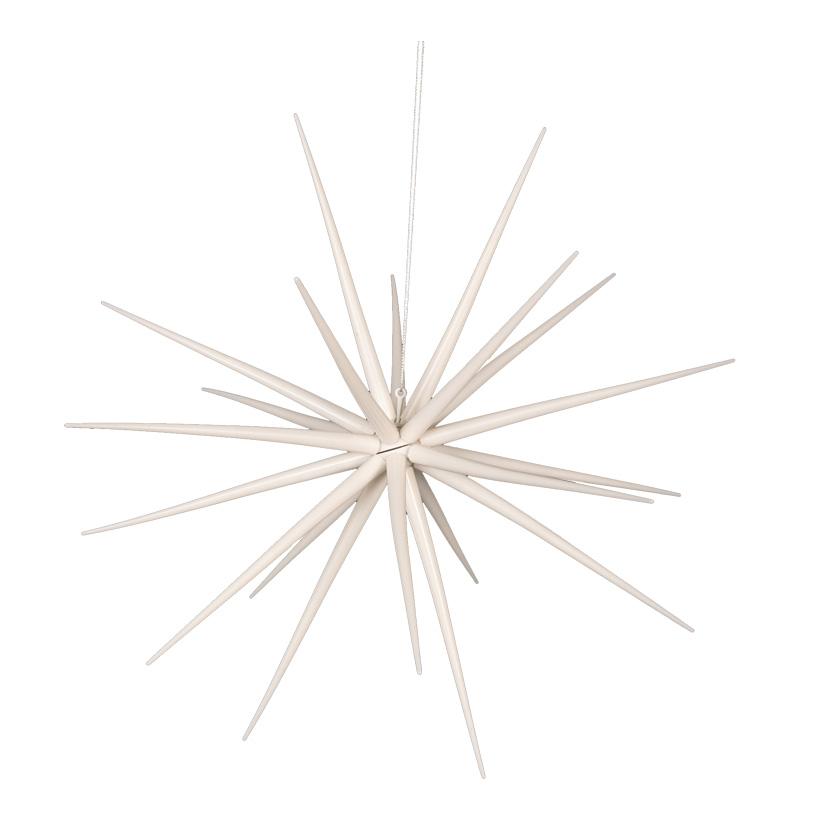 Sputnikstern, Ø 38cm, zum Zusammensetzen, aus Kunststoff, glänzend