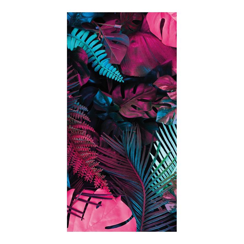 # Motivdruck, Bunter Dschungel, 180x90cm Stoff