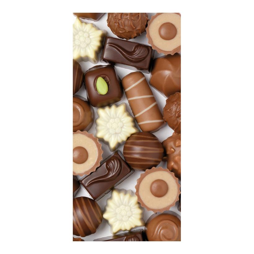 "# Motivdruck ""Schokolade"", 180x90cm Papier"