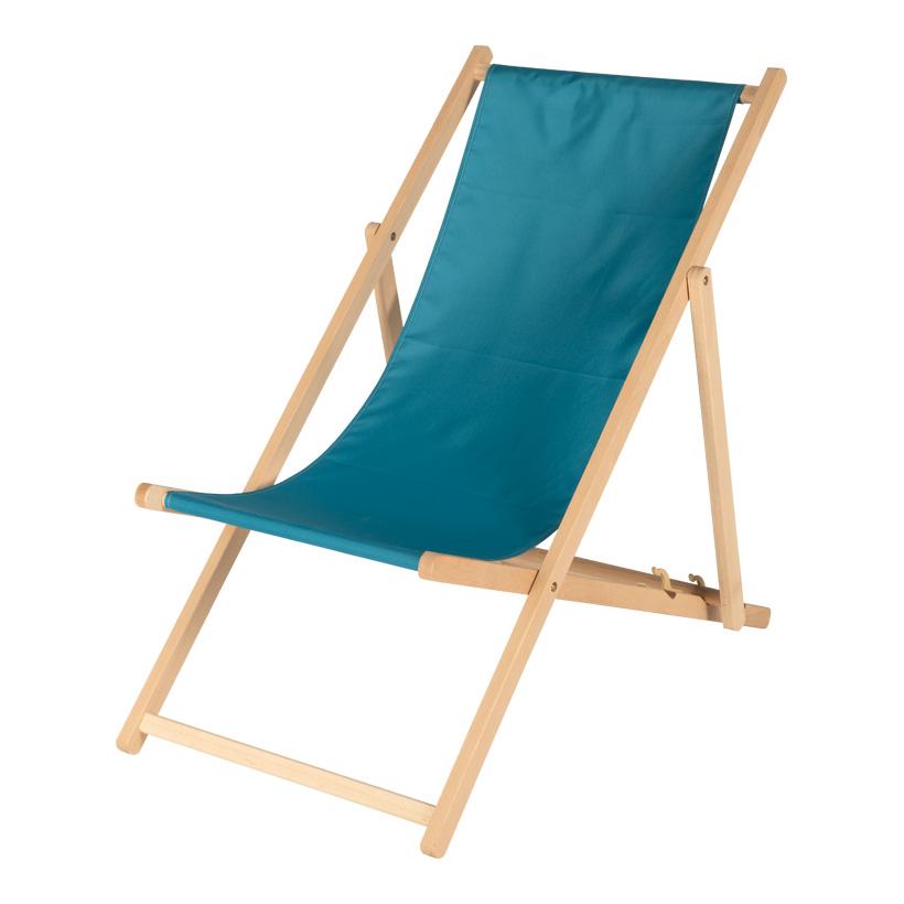 # Liegestuhl, 138x56cm aus Holz und Polyester