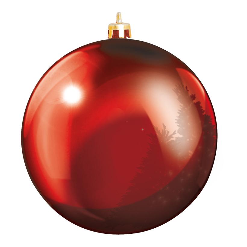 Weihnachtskugel Ø 40cm, glänzend, Kunststoff