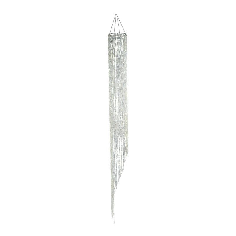 Plättchenhänger, 20x210cm, rund, Kunststoff