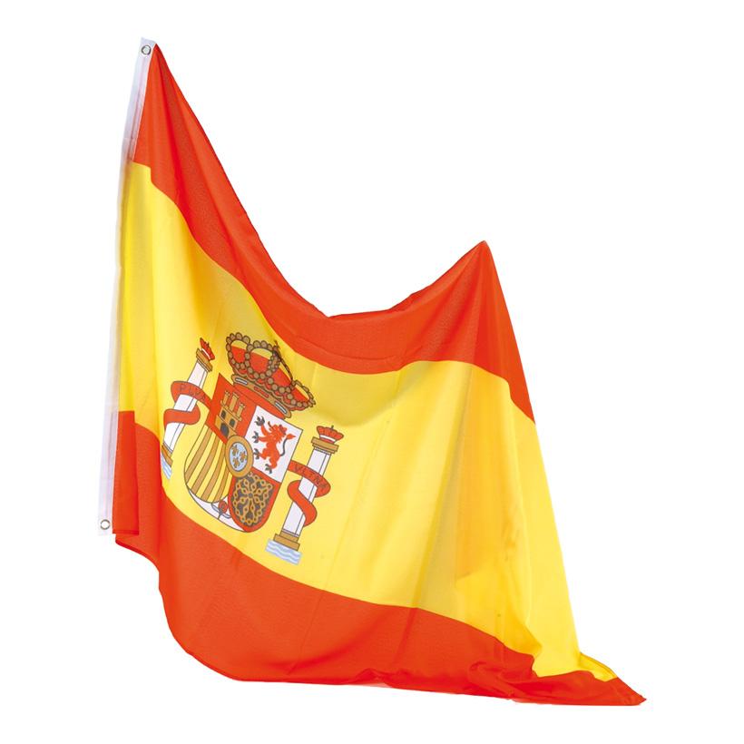 Flagge, 90x150cm, Kunstseide, mit Ösen