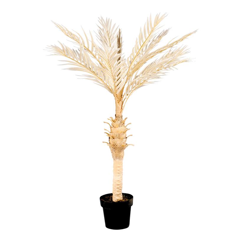 # Phoenix-Palme im Topf, 120cm, Kunststoff/Kunstseide