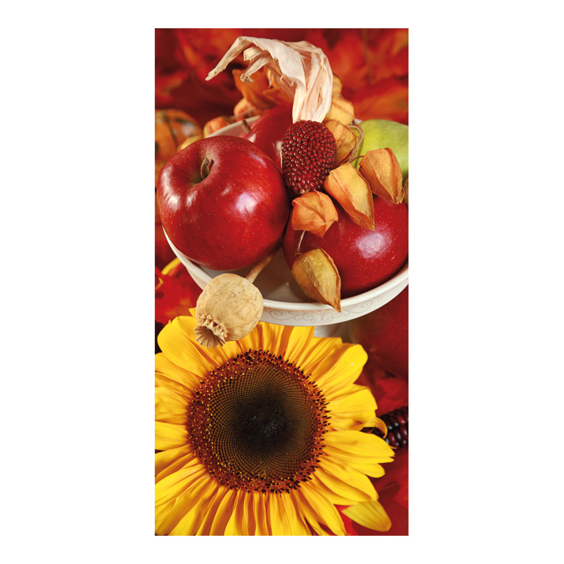 "# Motivdruck ""Sonnenblume"", 180x90cm Stoff"