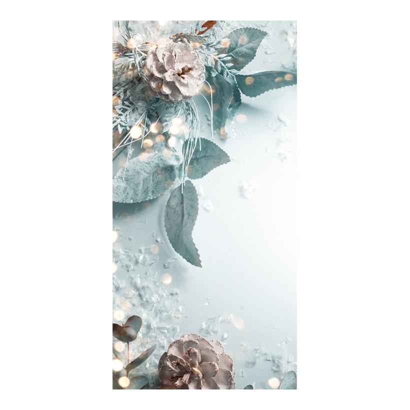 "# Motivdruck ""Winter romance"", 180x90cm Papier"