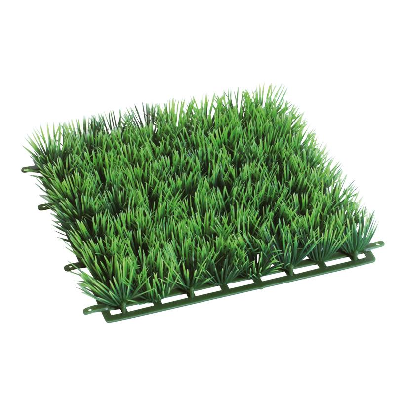 Graspaneel 25 x 25 cm 3 cm hoch, Kunststoff