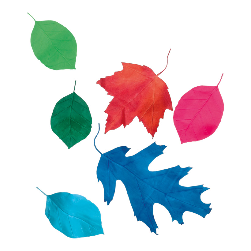 # Blätter im 6er-Set, ca. 15-50cm aus Papier