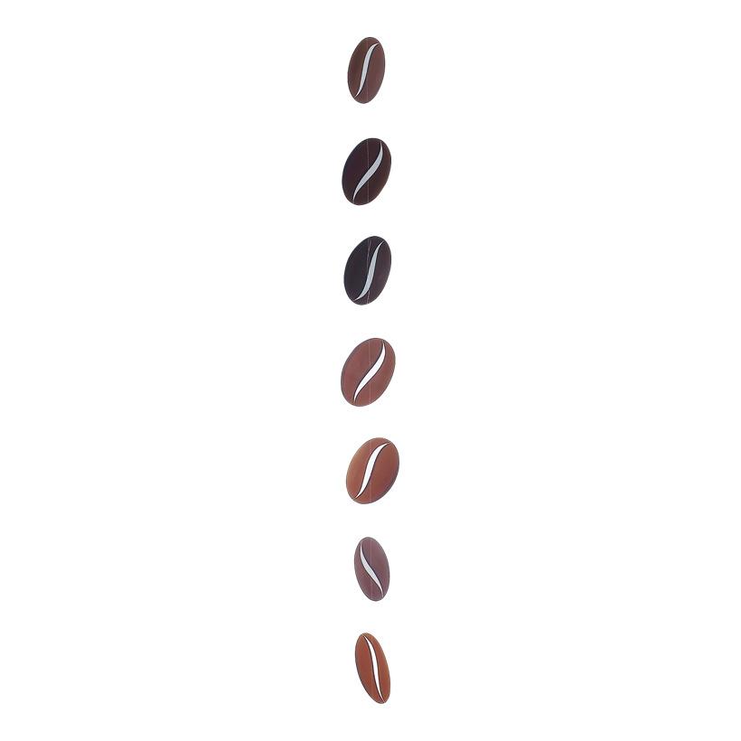# Kaffeebohnenkette, 180cm, 7-tlg., Bohne 19x13cm, Karton