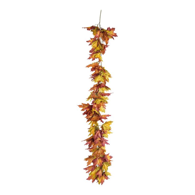 Ahornblattgirlande, 150cm, Kunstseide