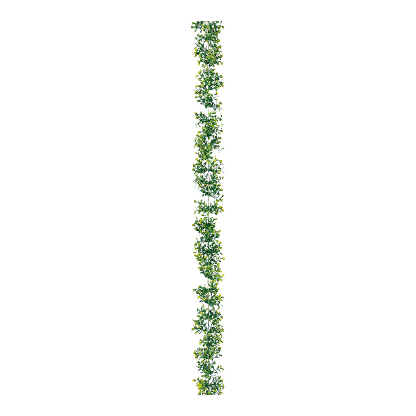 Buchbaumsgirlande 180 cm lang, Kunststoff