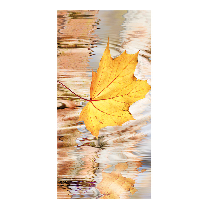 "# Motivdruck ""Herbstblatt"", 180x90cm Stoff"
