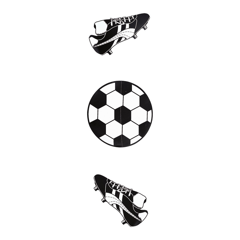 # Fußballhänger 90 cm Karton, 2 Schuhe, 1 Fußball