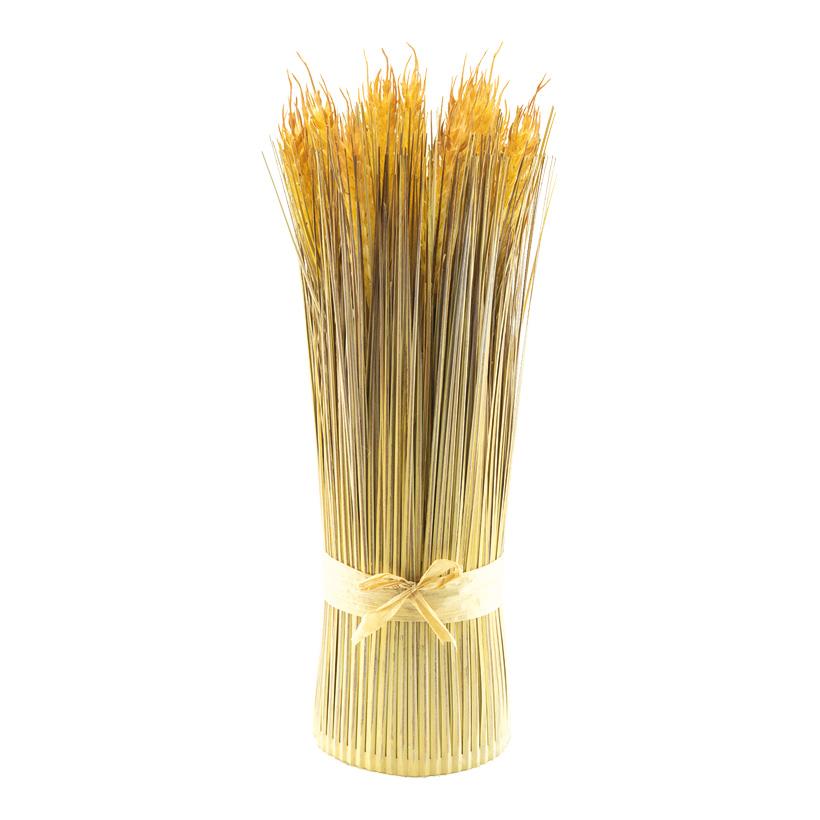 Weizengrasbündel, H: 36cm Ø: 11cm künstlich