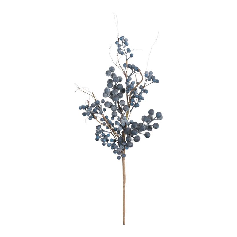 Beerenzweig, 60cm mit Beeren aus Styropor