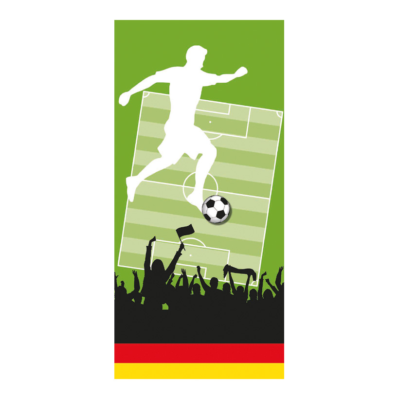 "# Motivdruck ""Fußball 3"", 180x90cm Papier"