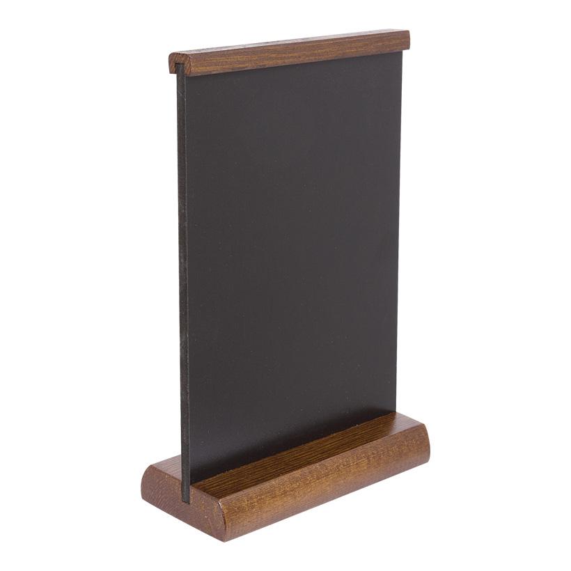 # Tischtafel aus Holz, 21x15cm, mit Kreidemarkern beschreibbar