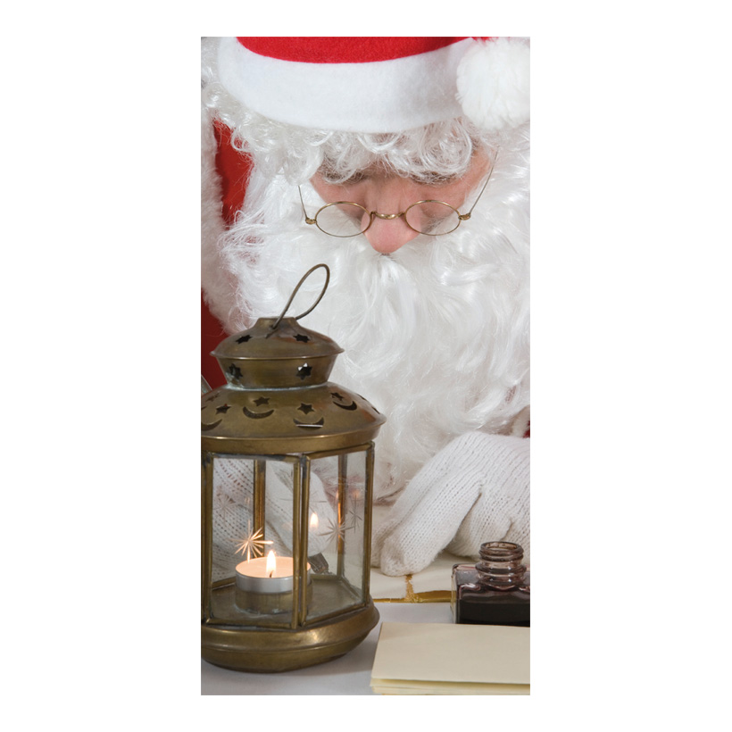 """# Motivdruck """"Weihnachtsmann"""", 180x90cm Papier"""
