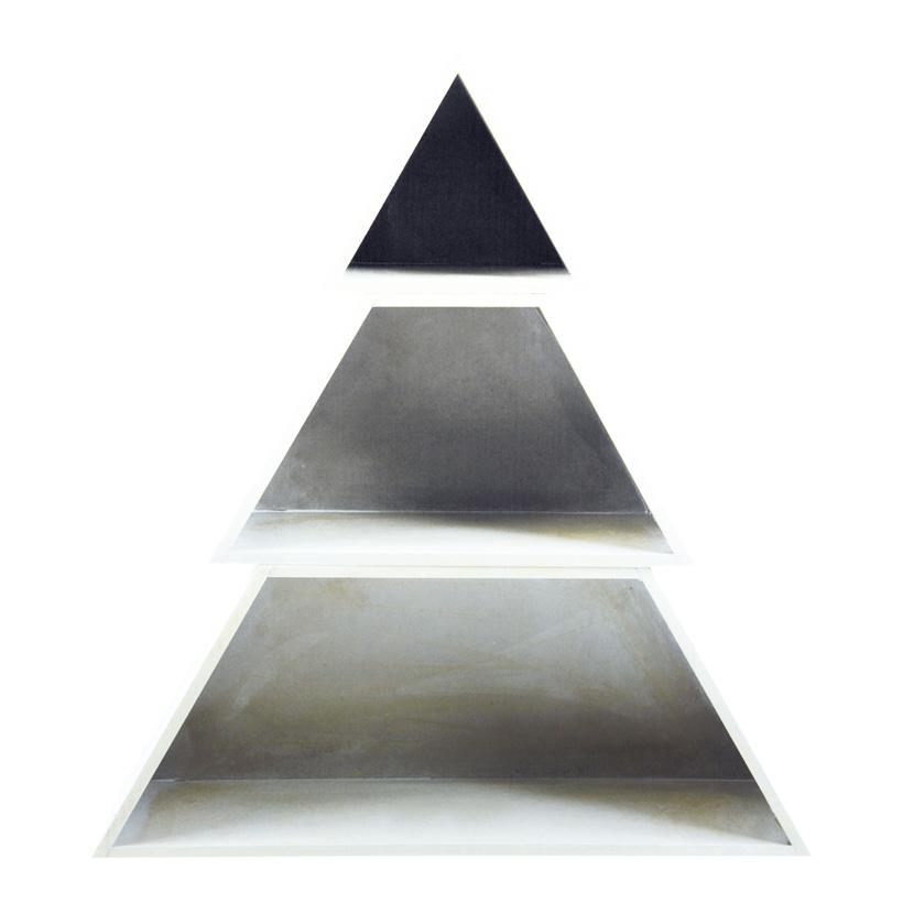 Baum, 38x34x9cm, 3-fach, Holz, nestend