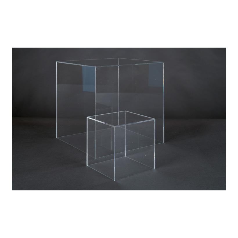 # Acryl-Box, 30x30x30cm oben geöffnet