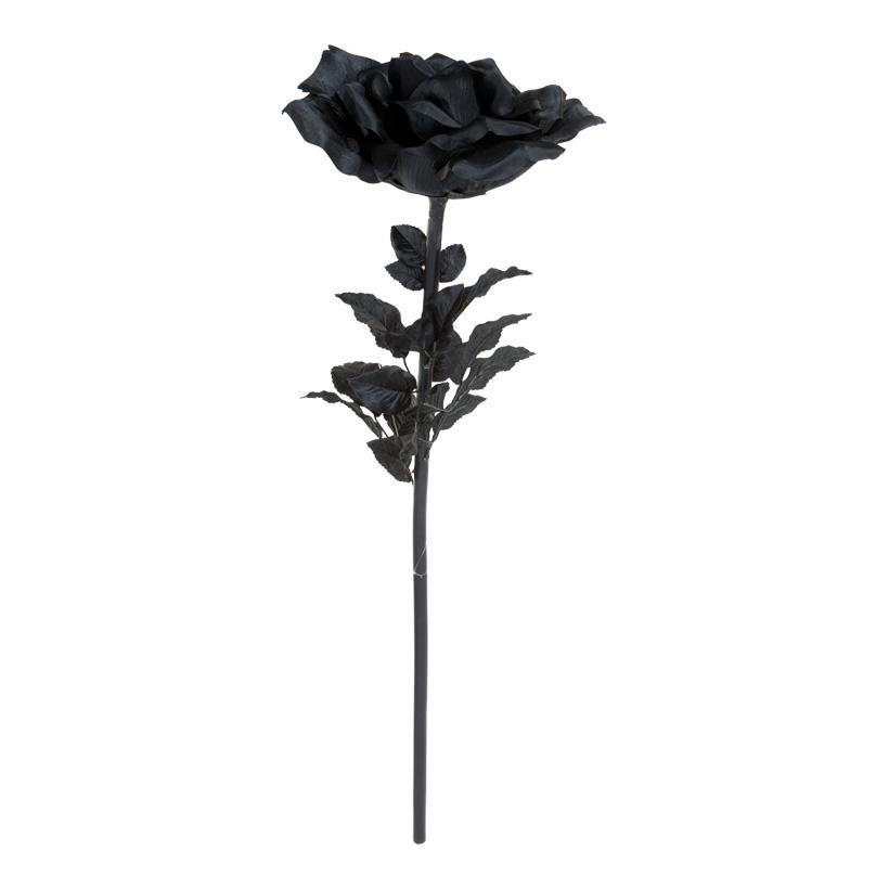 Rose XXL, 110cm, Kunstseide,  Blüte Ø 30cm
