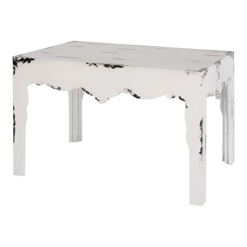Barock-Tischset, 80x60x60cm und 60x40x40cm, 2-tlg., Holz