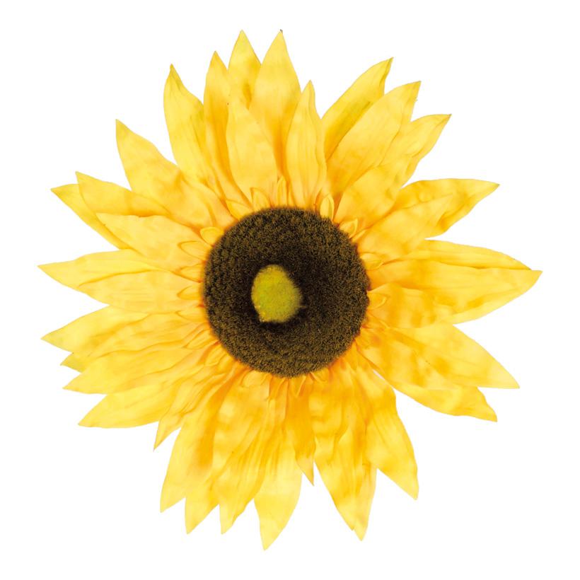 Sonnenblumenkopf, Ø 35cm, Kunstseide