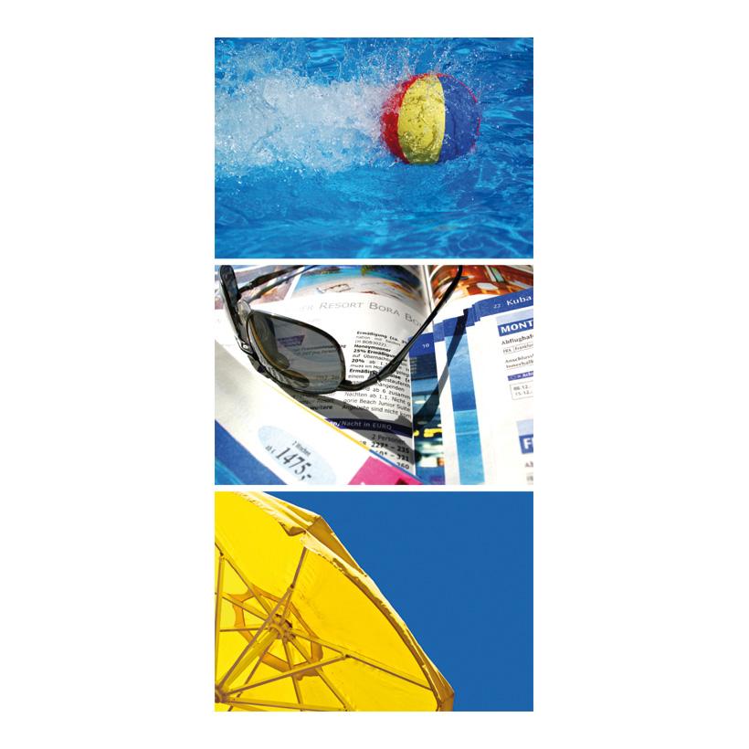 """# Motivdruck """"Sommer"""", 180x90cm Papier"""
