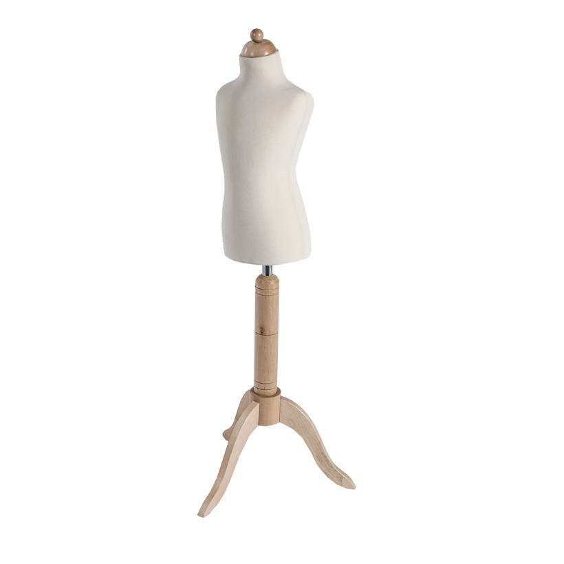 # Kinder-Schneiderbüste 125cm mit Ständer, höhenverstellbar