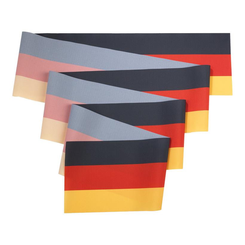 # Flaggenband, 19cmx30m, Abnahme 30m, schwer entfl. nach DIN 4102 B1, 100% Trevira CS