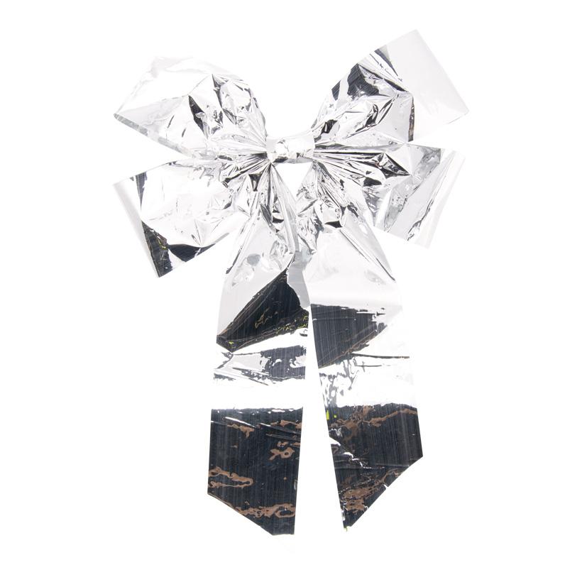 Folienschleife, 58x37cm mit 4 Schlaufen, aus PVC-Folie