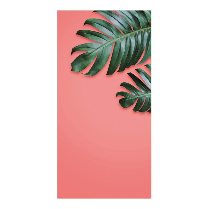 # Motivdruck, Palmenblätter, 180x90cm Papier