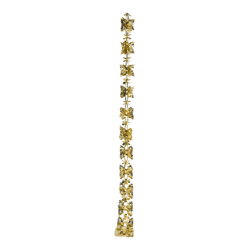 Foliengirlande, 270cm Ø20cm faltbar, mit Hänger