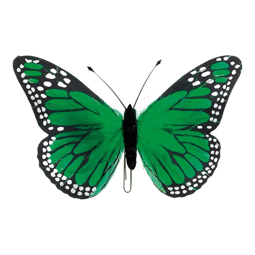 # Schmetterlinge 18x30 cm Federn