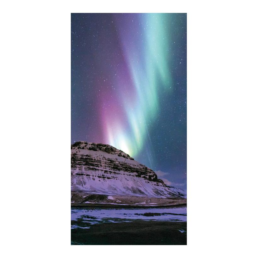 """# Motivdruck """"Polarlicht"""", 180x90cm Papier"""