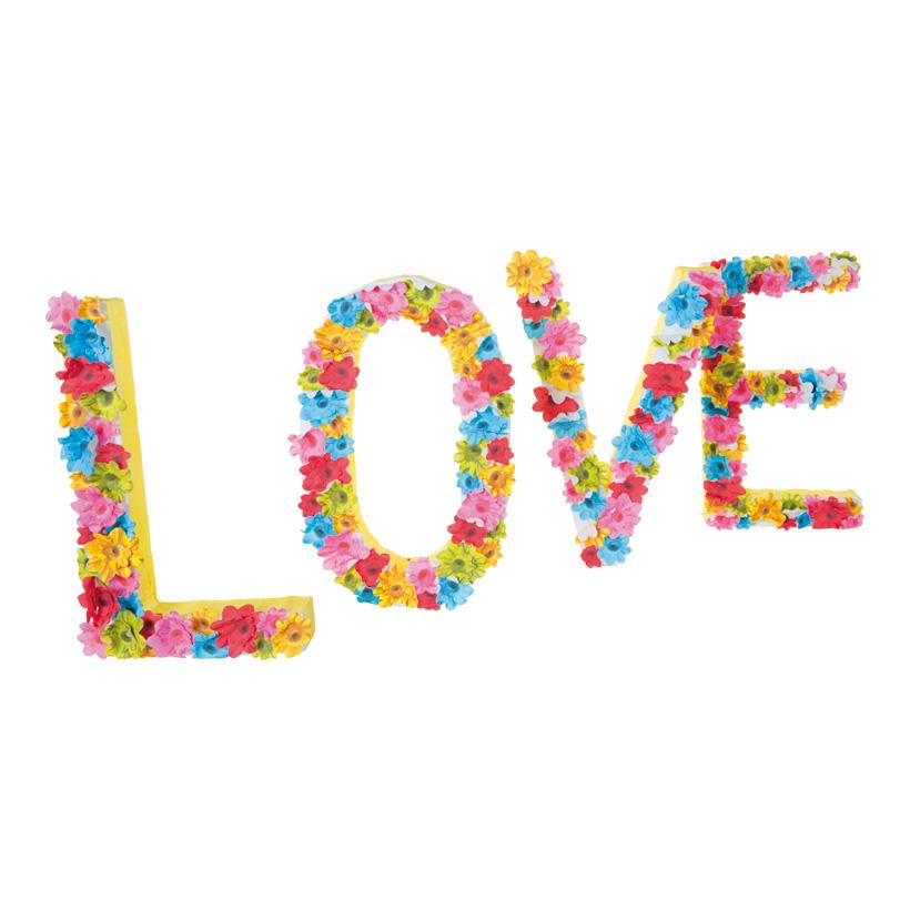 """Schriftzug """"LOVE"""", 75x30cm, aus Styropor"""